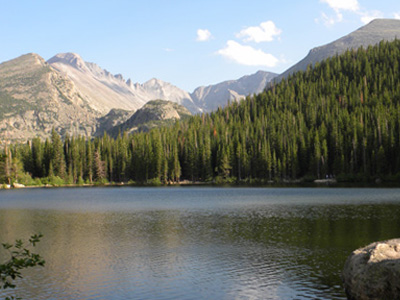 Brainard Lake . . .