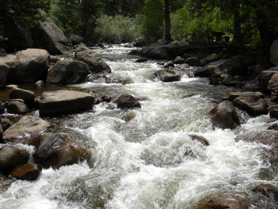 Rocky Mountain runoff . . .